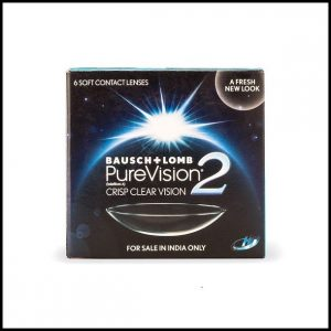 Bausch & lomb purevision2 hd contact lenses