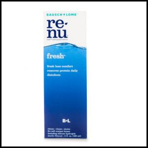 Renu fresh lens solution 120 ml