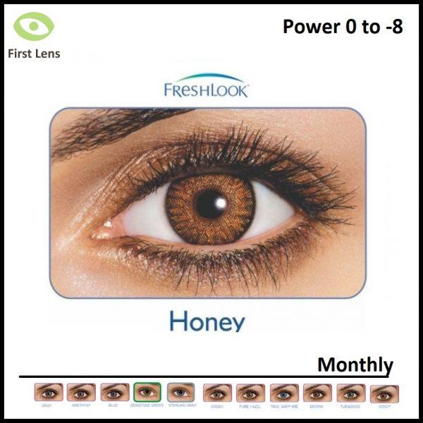 Freshlook Colored Lens Honey