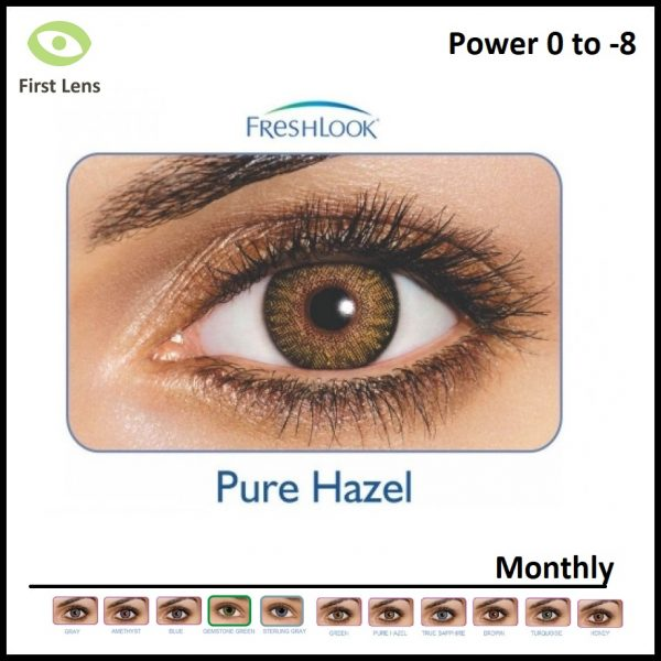 Freshlook Colored Lens Pure Hazel