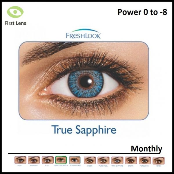 Freshlook Colored Lens True Saphire