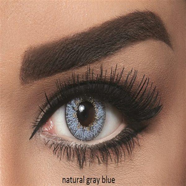 Bella Natural Collection Color Contact Lens - Grey Blue (2 lens/box)