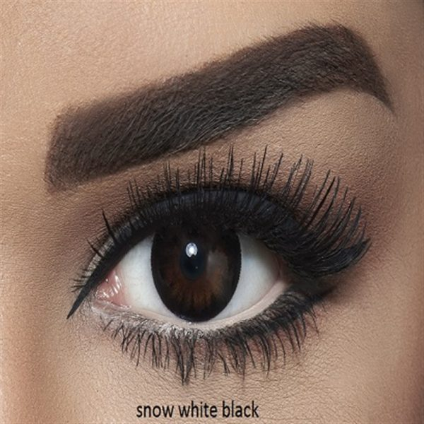 Bella Snow White Collection Color Contact Lens - Black (2 lens/box)