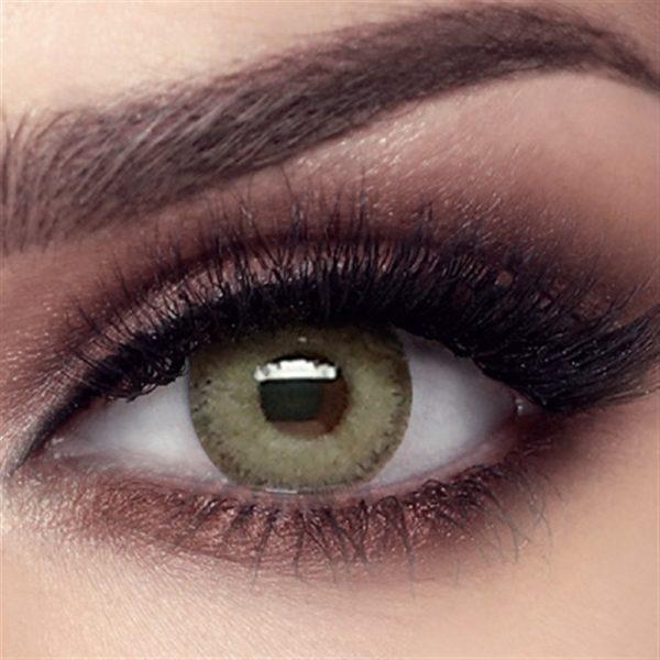 Bella Elite Collection Color Contact Lens - Grey Olive (2 lens/box)