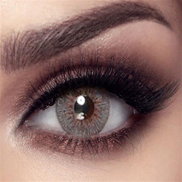 Bella Elite Collection Color Contact Lens - Silky Gray (2 lens/box)