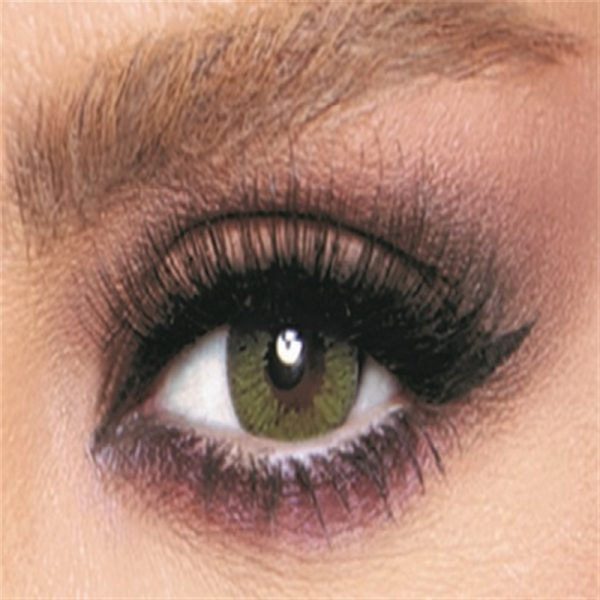 Bella Glow Collection Color Contact Lens - Lime Green (2 lens/box)
