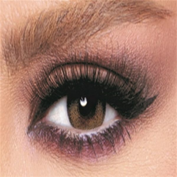 Bella Glow Collection Color Contact Lens - Radiant Brown (2 lens/box)