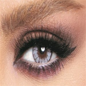 Bella Glow Collection Color Contact Lens - Radiant Gray (2 lens/box)